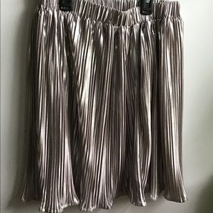 H&M Gold/silver Skirt